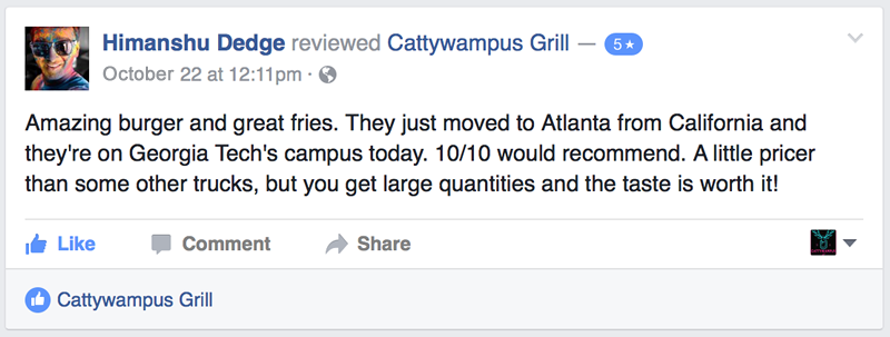 Atlanta Wedding Catering by Cattywampus Grill