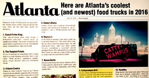 Atlanta Magazine best Food Trucks